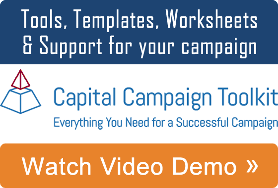 Capital Campaign Toolkit - Watch a video demo