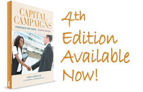 Capital Campaigns: Strategies That Work - 4th edition now available!