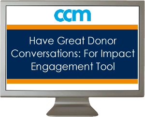 Have Great Donor Conversations: For Impact Engagement Tool