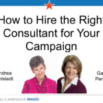 Recording: How to Hire the Right Campaign Consultant