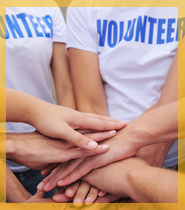 Events also help boost your volunteers' enthusiasm.