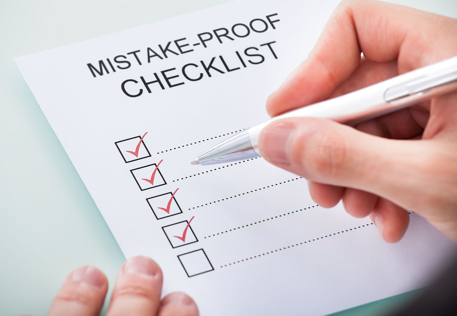 A Mistake-Proof Capital Campaign Checklist