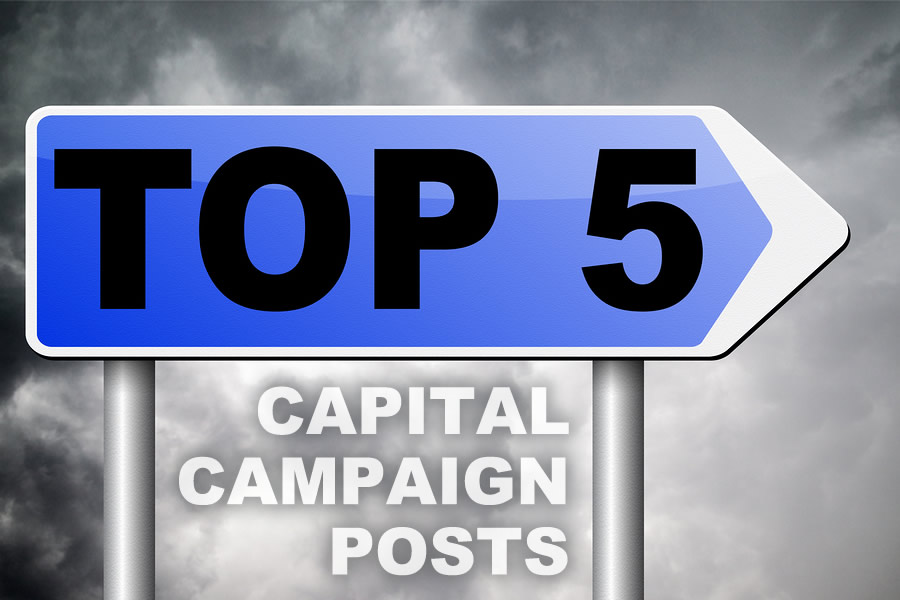 Top 5 Capital Campaign Blog Posts of 2017